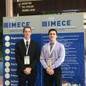 Mechanical Engineering Students Attend ASME IMECE Conference